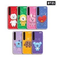 BTS BT21 Official Authentic Goods Silicon Light UP Case for iPhone 7/8 7+/8+ X/X