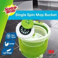 3M Scotch Brite Compact Single Bucket Spin Mop