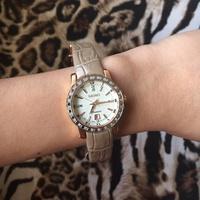 นาฬิกาข้อมือผู้หญิง Seiko Premier Diamond Pinkgold Lady แท้💯