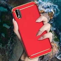 Vivo X21 Y85 Y71 3 in 1 Hard Case Cover Casing