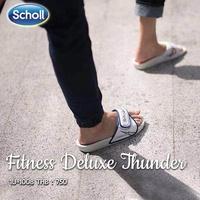 รองเท้าแตะScholl รองเท้าScholl รุ่น Fitness Deluxe 3.0 1U-2631 ฉลองครบ30ปี