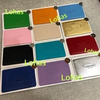 LOHAS🍀COACH 日本雜誌贈品 名片鏡  名片夾 不鏽鋼鏡 皮革 化妝鏡 悠遊卡 鏡子 雜誌贈品 顏色選擇最多