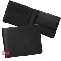 Braun buffel Small Gold Wallet the Los R Series 8 Card Transparent Window bf335
