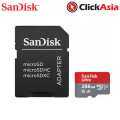 Sandisk 256GB Ultra A1 microSD Memory Card - 98mb/s (SDSQUAR-256G-GN6MA) +Adapter
