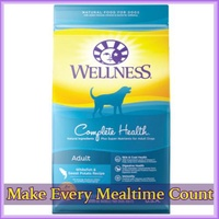 WELLNESS complete health- dog dry food (whitefish) 30lb