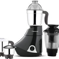 Butterfly Smart 750-Watt Mixer Grinder with 4 Jar (Grey) [DEY]