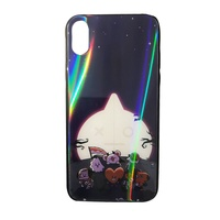 iPhone Case Xs Xr 6 7 8BT21 Laser Glass Acrylic Phone Case