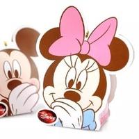 婚禮糖糖盒_迪士尼正版授權_米妮喜糖盒(含鐵絲束帶)
