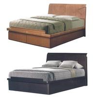 Avelina Wooden Storage Bed Queen King Size Storagebed