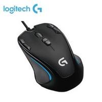 羅技Logitech G300s 遊戲光學滑鼠/2500dpi/雙手適用/9個自訂按鍵
