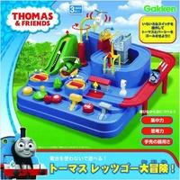 日本進口 Thomas 湯瑪士小火車 軌道大冒險 手動 益智邏輯 訓練遊戲