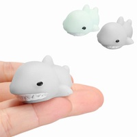 Shark Mochi Squishy Squeeze Cute Healing Toy Kawaii Collection Stress Reliever Gift Decor