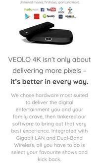 🚚 Velo AC Ryan - Smart 4K Android Hub