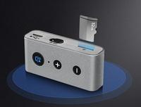 藍芽適配器 R6車載藍芽接收器免提AUX藍芽棒4.2音響插卡適配器