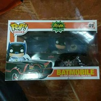 Funko Pop Rides - Batman In Bat Mobile