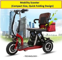 3 Wheels Mobility Electric Scooter For Sale
