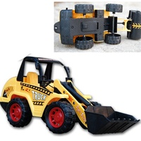 store Bulldozer Models Toy Large Diecast Toys Digging Toys Model Farmland Tractor Truck Engineering