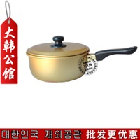 Imported from South Korea Single Handle la mian guo Stew Pot Hot Pot Instant Noodles Pot Insulated Handle