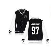 BTS 防彈少年團  JUNGKOOK 棒球外套