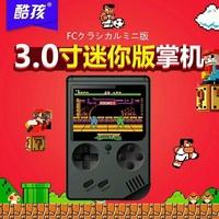 品質到最新改精選版3吋RS6A銀幕酷孩迷你FC懷舊兒童遊戲機俄羅斯方塊掌上PSP掌上遊戲機