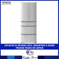 HITACHI R-SF45GS 457L INVERTER 6 DOOR FRIDGE MADE IN JAPAN