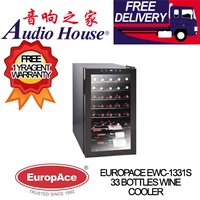 EUROPACE EWC-331 33 BOTTLES WINE COOLER *** 1 YEAR EUROPACE WARRANTY *** FREE DELIVERY !