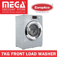 EUROPACE EFW7700S 7KG FRONT LOAD WASHER (DELUXE SILVER) / LOCAL WARRANTY
