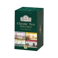 【茶客來】AHMAD TEA亞曼綜合紅茶 20入鋁箔茶包/盒