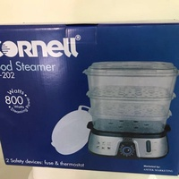 Brand New Cornell Food Steamer Pro with Rice Bowl CS-202 CS202. Local SG Stock and warranty !!