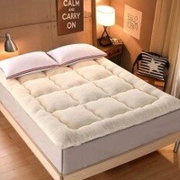 120x200cm Thicken Lamb Winter Warm Mattress Foldable Tatami Mattress Pad Sleeping Rug Bedroom and Office Lazy Bed Mats