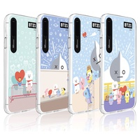 BTS BT21 Official Merchandise - Pastel City Light Up Phone Case for Apple iPhone