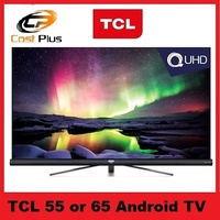 TCL 55 / 65 inch C6 QUHD 4K Android TV 55C6US / 65C6US Series* 3 YEARS LOCAL WARRANTY