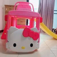 韓國 YaYa Hello Kitty 溜滑梯、籃球框