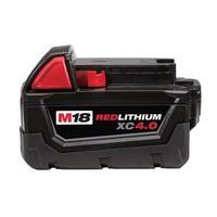 美國品牌 Milwaukee 米沃奇 18V鋰電專用電池 4.0AH M18B4