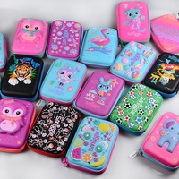 Australia, smiggle pencil case stationery student pencil case hard shell zippered pencil case school