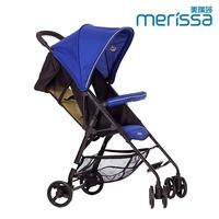 Merissa 美瑞莎 BX-11 可登機收納嬰幼兒手推車(湖水藍)(好窩生活節)