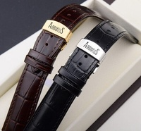 Head the layer leather leather watch band Arbutus love that the butterfly button up watch chain love especially ratio especially men and women watch accessories 20 - intl
