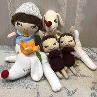現貨 日本代購-奈良美智 狗 吊飾 娃娃