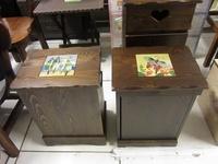 實木磁磚置物櫃收納垃圾桶~2款