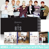 MEDIHEAL x BTS limited Special Pack Set (BTS Photo Card) Bangtan Boys Photocard album