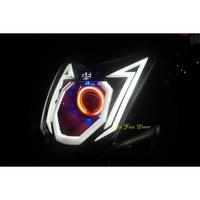 『六扇門』GMS 四代戰 M4 認證合法魚眼大燈 魚眼 HID LED 認證 合法 大燈 四代 勁戰 GMMAS 多角型