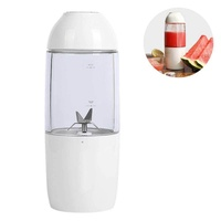 OEM Personl Blender, Smoothie Blender For Single Served, USB Rechargeable Portable Blender For Shakes And Smoothies, Stronger And Faster With Ice Tray Funnel Recipe(21.5*9.5cm)