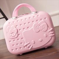 Hello Kitty 14吋手提硬殼化妝箱
