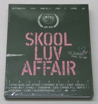 BTS - Skool Luv Affair (2nd Mini Album) CD+Booklet+Photocard