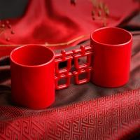 喜器│幸福祝賀 雙喜杯 第三代對杯│台灣原創版 雙囍杯《隨附原版雙囍禮袋》