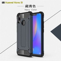 for Huawei Nova 3i Case Armor Rubber Silicone Phone Case for Huawei Nova3i Nova 3i Cover