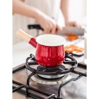 e handle small milk pot instant noodle pot home kitchen baby food supplement pot