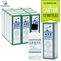 (Carton of 12) Axe Brand Universal Medicated Oil Relief – 56ml
