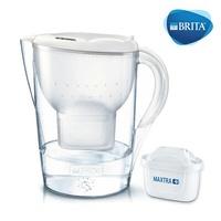 德國BRITA Marella XL濾水壺3.5L+濾心1入 MAXTRA 白色【超商取貨限購一組,無法與其他商品合訂】