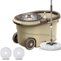 Spin Mop Magic Mop + Cleaner Bucket + 2 Mop Heads